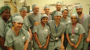 Urology Team Photo after a Simulation Exercise
